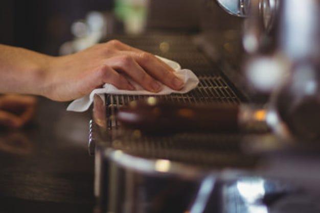 maintaining your espresso machine